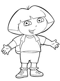 Dora Preschool Coloring Pages Free Printable Coloring Pages For Coloring Pages Preschool