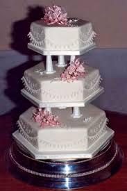 wedding cake tiers hexagon wedding cake gallery