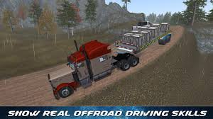 off road trailer truck driver android apps on google play