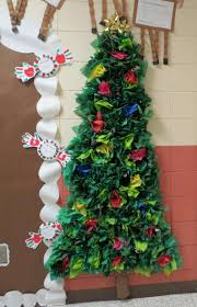 decorating christmas tree classroom door decoration contest s