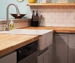 Wood Kitchen Countertops 35 Kitchen Countertops Made Of Wood Ideas Removeandreplace Com