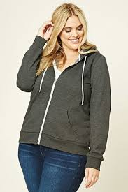 heather grey hoodie forever21