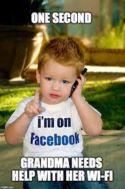 Kid On Phone Meme - kid on phone imgflip