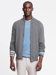 banana sweater banana republic tipped collar bomber sweater jacket where to buy