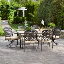 7 Pc Patio Dining Set - patio dining sets 7 piece video and photos madlonsbigbear com