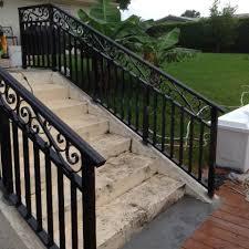 railing installation in broward county power fence inc