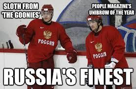 Funny Nhl Memes - russian hockey players memes quickmeme