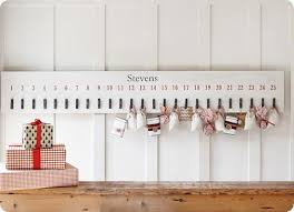 knock off pottery barn advent from thrifty decor