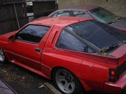 1987 mitsubishi cordia car picker red mitsubishi starion