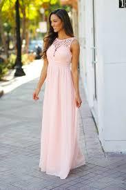 light bridesmaid dresses light pink crochet maxi dress pink bridesmaid dress saved by