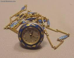 vintage necklace watch pendant images Bucherer enamel silver gilt necklace pendant watch for sale jpg