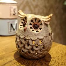 Owl Home Decor Ceramic Owl Candle Holders Home Decoration European Candle Stick