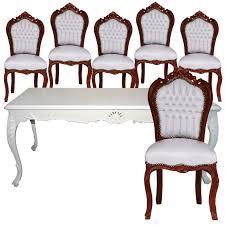 Esszimmertisch Tisch Esstisch Barock Fantastisch 9tlg Essgruppe Barock Esstisch