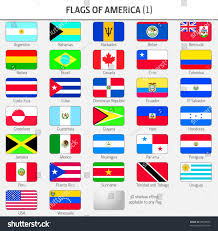 Flag Of All Countries Flags All American Countries 1 Stock Vector 28618078 Shutterstock