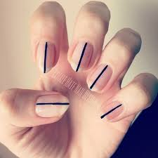 simple stripe nail art by courtney haines nailpolis museum of
