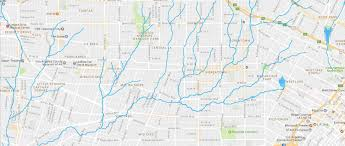 Greater Los Angeles Map los angeles u2013 hidden hydrology