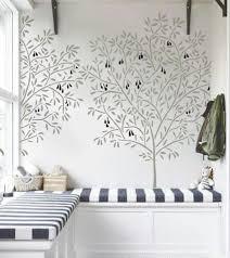 stencils for home decor interior wall stencil olive tree reusable diy home decor