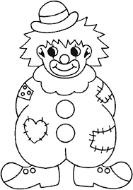 clothes coloring pages clown wearing raggery clothes coloring page clown wearing raggery