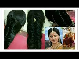 akshara wedding hairstyle tutorial bahubali devasena s anushka shetty inspired