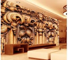 aliexpress com buy customized wallpaper for walls wooden wolf aliexpress com buy customized wallpaper for walls wooden wolf head pattern wood carving wall living 3d wallpaper photo mural wallpaper from reliable