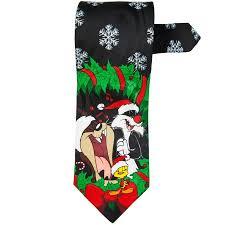 looney tunes christmas wreath necktie walmart