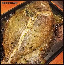 cuisiner le turbot entier iz cooking barbue entière marinée et cuite au four