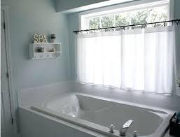 Small Bathroom Window Ideas Bath Window Curtains Teawing Co