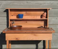 Potting Bench Ikea Potting Bench With Sink Potting Bench W Faucet Sink U0026 Shelf By