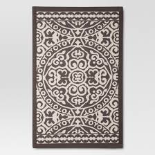 Threshold Kitchen Rug Gray Floral Rugs 2 U002710