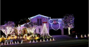 best christmas display of lights in homes in orange county 2012