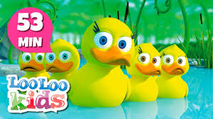 five little ducks the best songs for children looloo kids