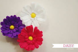 felt flowers how to make felt flowers 37 diy tutorials guide patterns