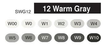 copic australia copic sketch set 12 warm grey