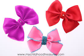 how to make a ribbon bow easy double bow treasurie