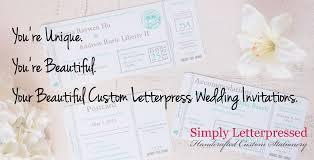 Letterpress Invitations Custom Letterpress Wedding Invitations Your Letterpress