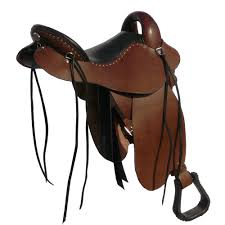 Horse Saddle by Trail Saddles By Steele