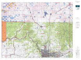 Spokane Map Wa Gmu 124 Mount Spokane Map Mytopo