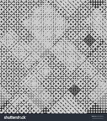 digital ornament gray black colors seamless stock vector 642790090