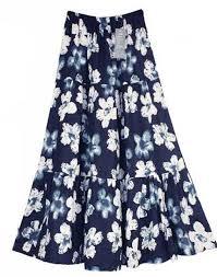 skirt labuh floral maxi skirt labuh blue end 6 7 2018 10 13 pm