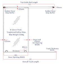 Standard Shower Door Sizes Shower Door Thicknes Limette Co