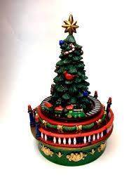 Mr Christmas Ornament - animated musical mini christmas tree