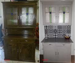 buffet meuble cuisine rénovation buffet meuble cuisine vitraux crédence carreaux de ciment