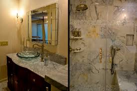 untitled document the custom designed vanity is accentuated by a class sink and the shower with sitting area is custom designed in marble which gives this room a