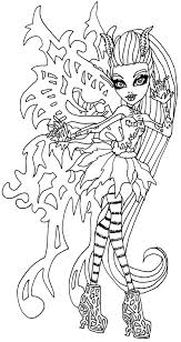 Halloween Monsters Coloring Pages by Monster High Coloring Pages Bonita Femur Google Search