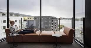 Sofa Bergen A Puzzle Like Aluminum Façade Wraps Around Bergen U0027s National