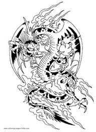 coloring dragon love free printable coloring pages