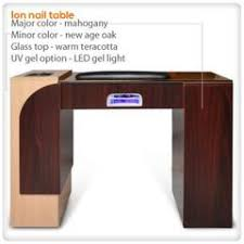 manicure table with built in led light manicure nail tables salon furniture lee nail supply