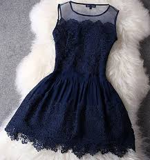 blue lace dress lace dress in navy blue co
