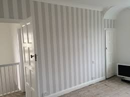 Wallpapers For Bathrooms Striped Wallpaper For Bathrooms Bibliafull Com