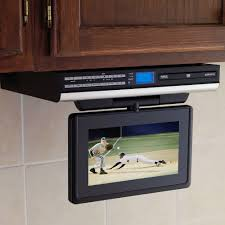 buying an under cabinet tv